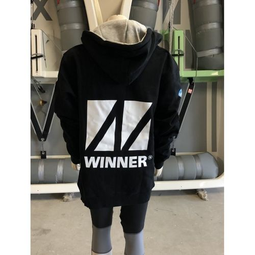 WINNER SWEATSHIRT WITH ZIPPER